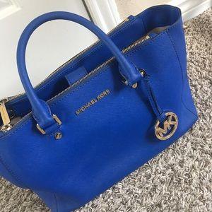 michael kors purse deep blue
